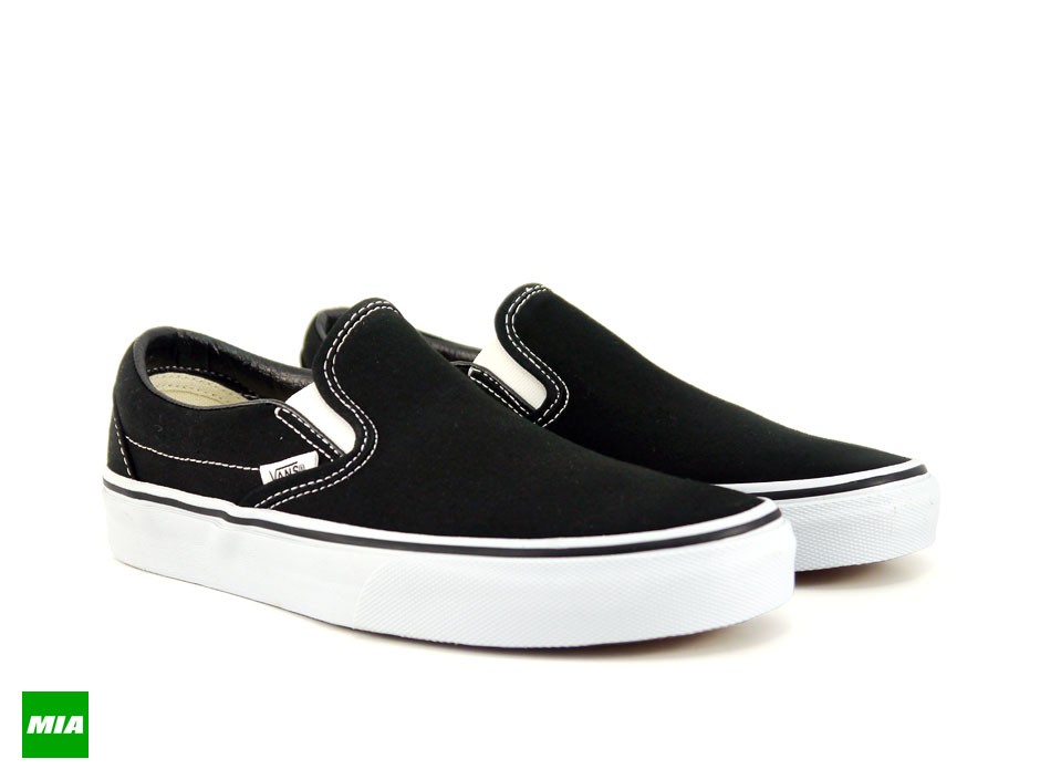 Black Classic On Classic Vans Vans Slip ZuXOPki