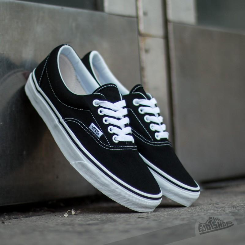 Giày Vans Era Classic Black White - VN000EWZBLK